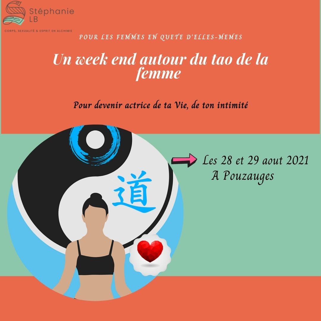 Week-end tao Ô féminin: 28 et 29 aout 2021en Vendée